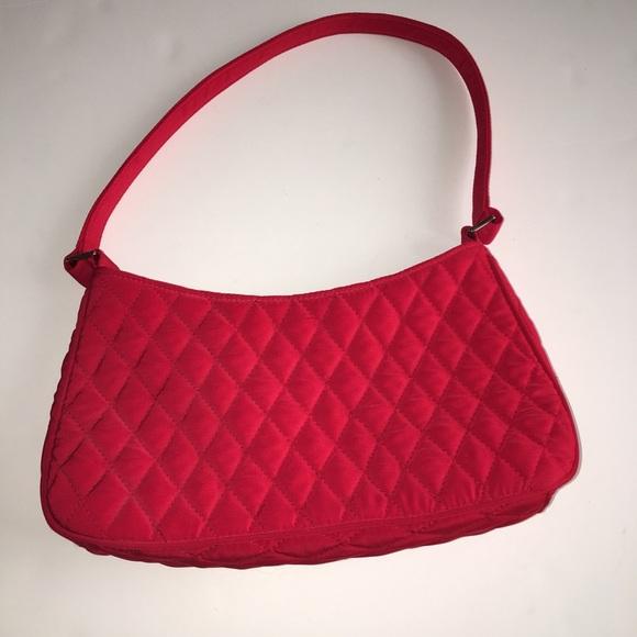 dc8512f8c1 Vera Bradley Bags Like New Red Quilted Vb Bag Poshmark